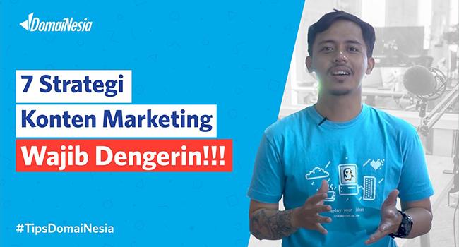 7 strategi konten marketing blogview