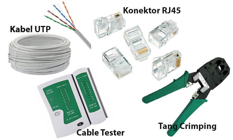 alat pemasangan kabel UTP