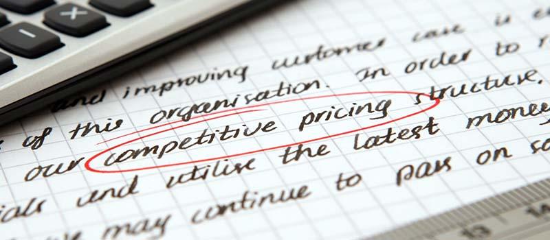 strategi harga berdasarkan kompetitor
