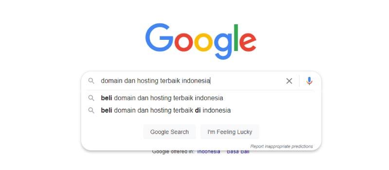 long tailed keyword domain dan hosting terbaik indonesia